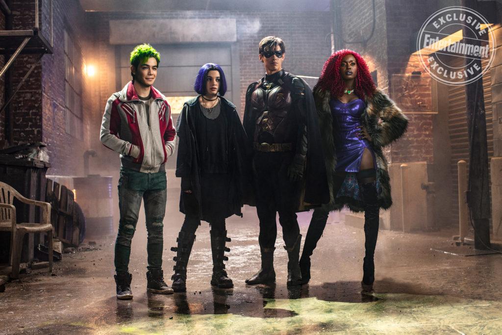 Titans serie tv