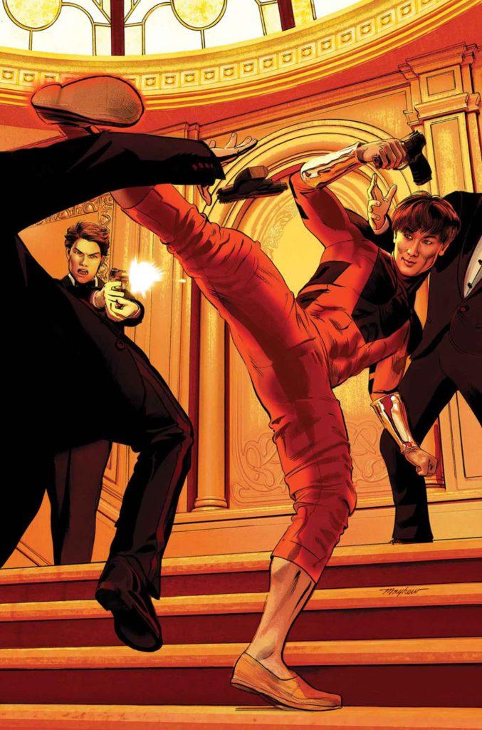 Marvel fase 4 shang chi mike mayhew