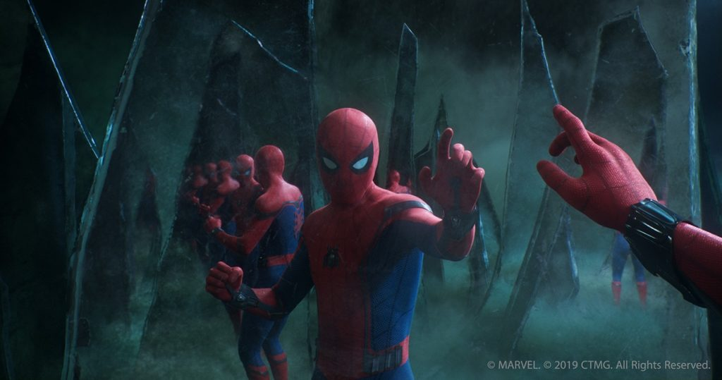 Spiderman y mysterio